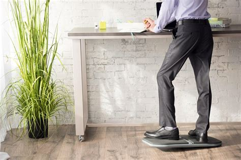 standing desk balance board 4 benefits of using a balance board with a standing desk