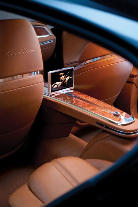 luxury cars inside bugatti galibier interior cars pinterest