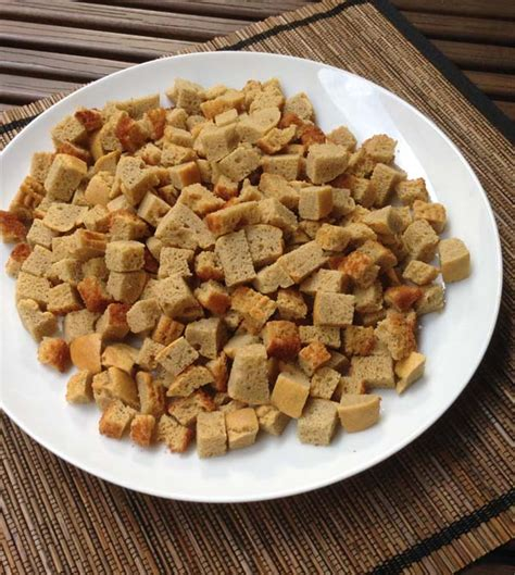 bread cubes for paleo dried quot bread quot cubes for thanksgiving stuffing healing and eating