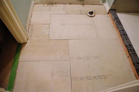 tile bathroom floor hardibacker 28 images guest bath