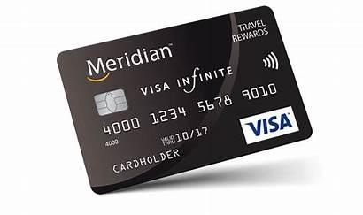 Credit Cards Meridian Card Visa Rewards Travel