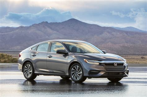 Allnew 2019 Honda Insight Production Model Revealed