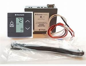 Dometic 3316230 014 Lcd Touch Thermostat With Control Kit