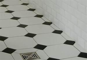Carrelage Salle De Bain Noir Et Blanc : formidable carrelage damier noir et blanc salle de bain 8 acheter carrelage carrelage r233tro ~ Dallasstarsshop.com Idées de Décoration