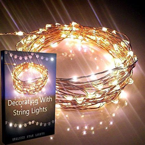 starry string lights qualizzi 174 120 warm white led s on
