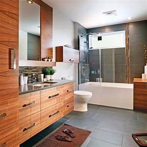 Rénovation Salle De Bain Avant Après : cure de jeunesse pour la salle de bain salle de bain ~ Dallasstarsshop.com Idées de Décoration