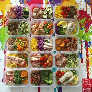 meal preps rg fitness food