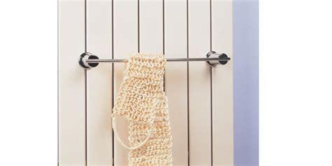porte serviette sur radiateur barre porte serviettes 2 points acova