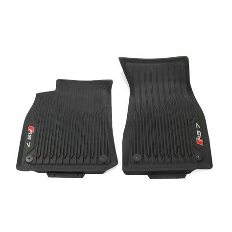 Abt audi rs7 4.0 tfsi quat./tiptr. Original Audi RS7 (C8) Sportback Gummi Fußmatten vorn ...