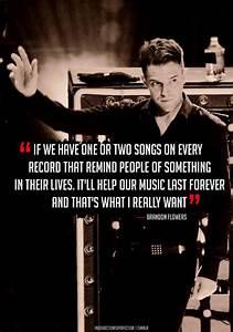 The Killers Bra... Brandon Quotes