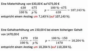 Prozentwert Berechnen Arbeitsblatt : prozentsatz berechnen aufgaben und l sungen ~ Themetempest.com Abrechnung
