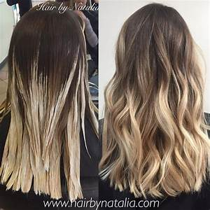 Balayage Ombré Blond : brown to blonde balayage ombr hair trends in 2019 ~ Carolinahurricanesstore.com Idées de Décoration
