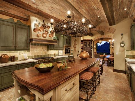 bright green led light panel tuscan country kitchen designs ideas decor models