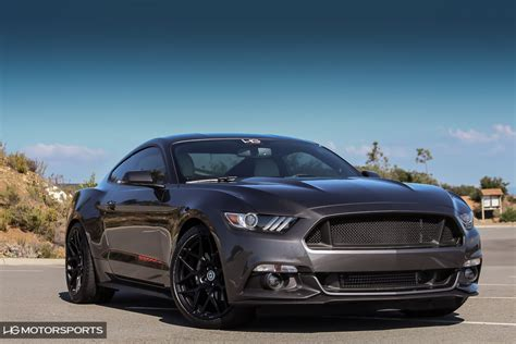 mustang modified hgms mustang mods go sinister on gt or ecoboost