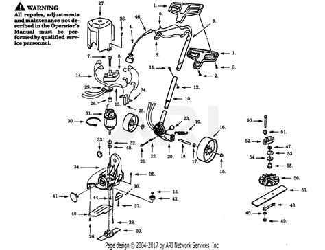 Eater Diagram by Poulan Se150 Electric Edger Parts Diagram For Trimmer Assembly