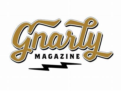 Gnarly Magazine Kustom Dribbble Sign Pinstriping Kulture
