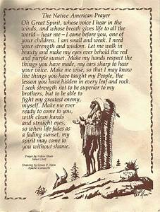 A Prayer by Yel... Sioux Chief Quotes
