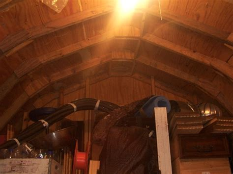 dbhost  gambrel barn  loft woodworking talk