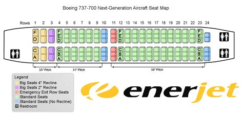boeing 737 plan sieges boeing 737 700 seating pictures to pin on