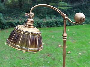 chasenantiquescom lamps tiffany studios 10 With tiffany linenfold floor lamp