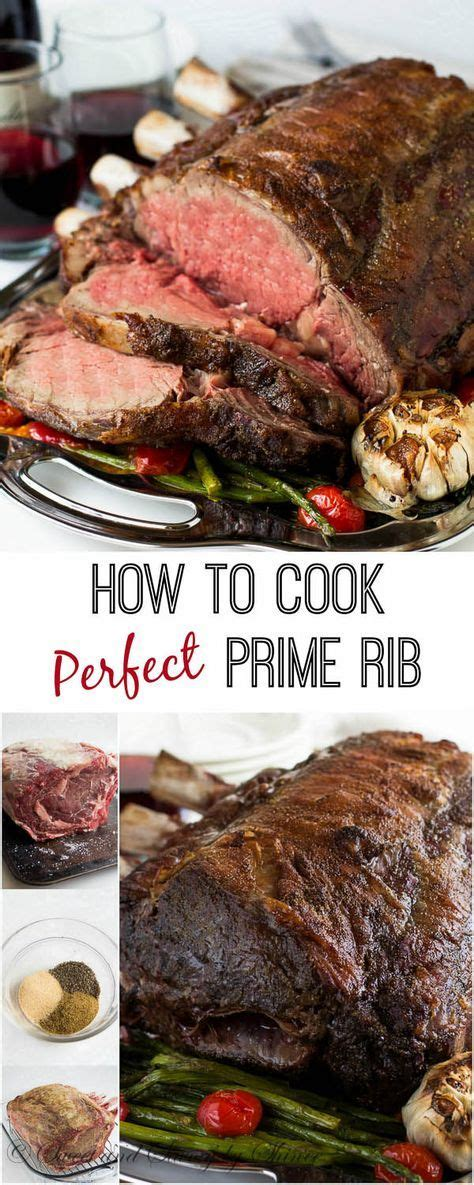how to cook a prime rib let me show you how to roast a perfect prime rib step by step with proven fool proof method