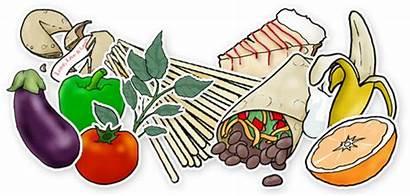 Clip Clipart Plate Foods Cliparts Delicious Clipartix