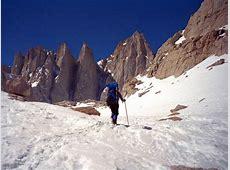 Mount Whitney – Winter! Sierra Mountain Guides