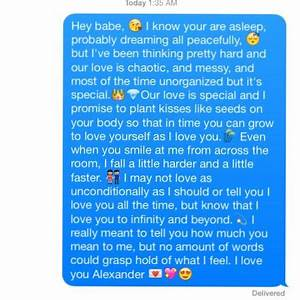 I know you're asleep but.. Cute/ Love text message | love ...