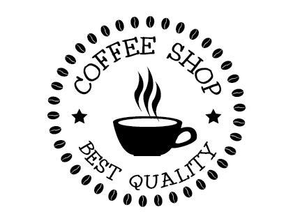 Good ideas start with coffee. 鏡野が: 有名な Coffee Logo Ideas