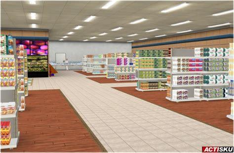 des magasins en 3d haut courant