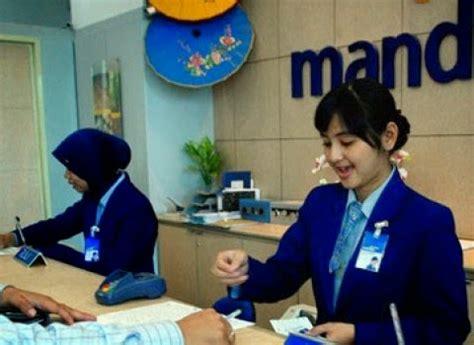 info lowongan kerja bank mandiri oktober