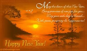 new year wishes by 123greetings Most Beautiful and ...