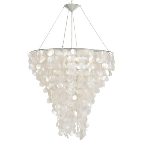 worlds away large capiz shell chandelier