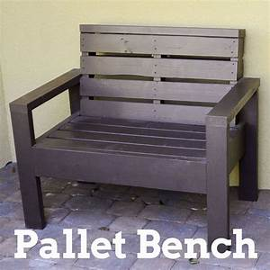 Hometalk Pallet Bench