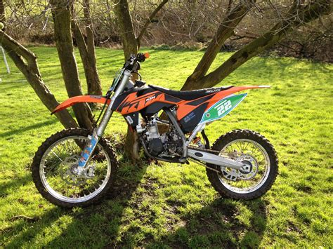 motocross biking ktm 85 sx big wheel 2013 motocross bike