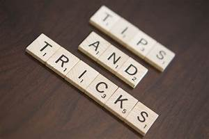 Tips and Tricks | Tips and Tricks Stock Photo When using ...