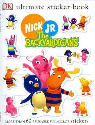 barnes and noble tyrone ultimate sticker book backyardigans by dk publishing
