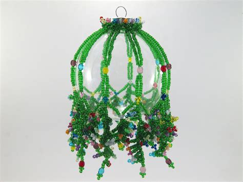 seed bead christmas ornaments patterns images