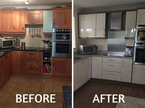 replacing kitchen cabinet doors before and after replacement kitchen cabinets are the answer in 2016 ba 9752