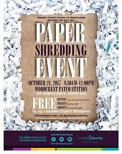 paper shredding camden county nj With document destruction nj