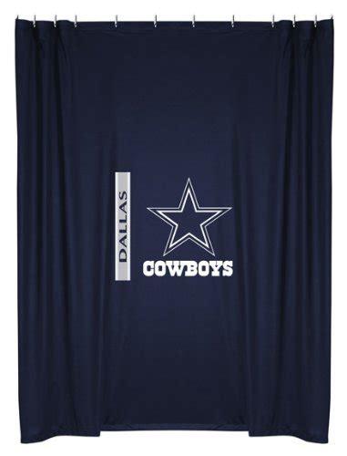 Drapes Dallas - nfl dallas cowboys shower curtain import it all
