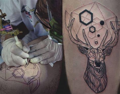 deer tattoo  facu ontivero design  tattoosdesign  tattoos