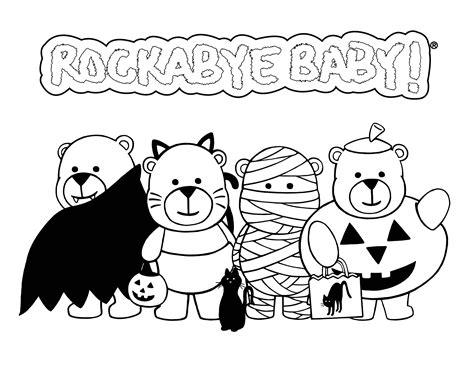 Cute Halloween Coloring Pages   coloringsuite.com