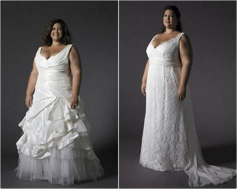 Wedding Dresses For Women : Wedding-dresses-for-older-plus-size-brides-zssn