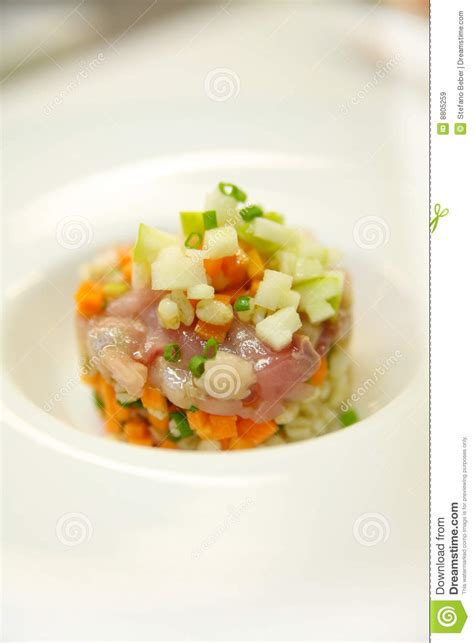 cuisine stock food nouvelle cuisine stock image image 8805259