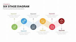 Six Stage Diagram Powerpoint And Keynote