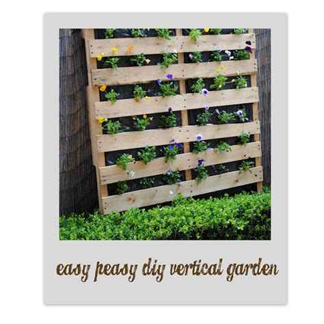 How To Build A Vertical Wall Garden by Bubby Makes Three Build A Vertical Garden