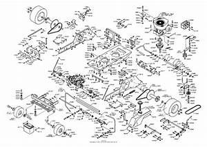 Dixon Ztr 4423  2003  Parts Diagram For Chassis