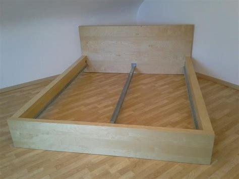 Ikea Malm (birke) 160x200cm In Neulußheim  Betten Kaufen