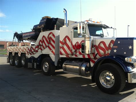 tow truck custom painting spectrum truck painting